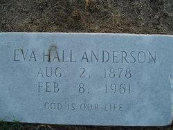 Eva <i>Hall</i> Anderson