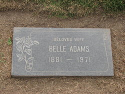 Belle <i>Husted</i> Adams