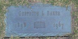 Gertrude L <i>Mace</i> Baker