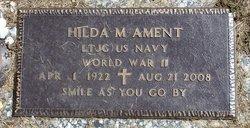 Hilda M. <i>Plank</i> Ament