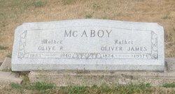 Olive R <i>Roberts</i> McAboy