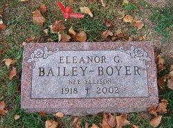 Eleanor G. <i>Ellison</i> Bailey-Boyer