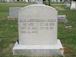 Sallie <i>Andrews</i> Duncan