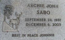 Archie John Johnnie Sabo