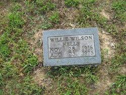 Willie <i>Wilson</i> Kelly
