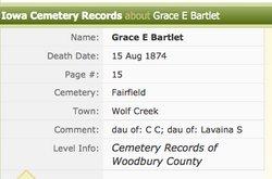 Grace E. Bartlett