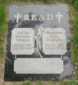 Goldie Aspasia <i>Simeon</i> Read