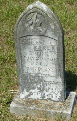 Sarah Isabella Isabell Baker