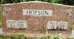 Willie Lula <i>McBryde</i> Hopson