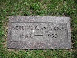 Adeline O <i>Runsat</i> Anderson