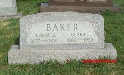Clara E. <i>Schuh</i> Baker