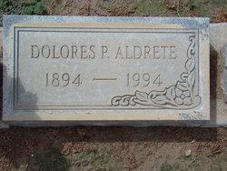 Dolores <i>Pool</i> Aldrete