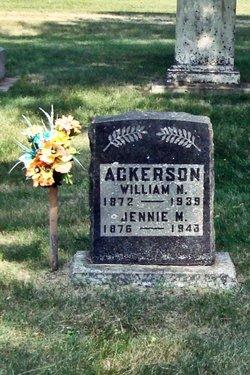 Jennie May <i>Barrett</i> Ackerson