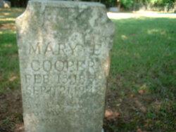 Mary E Cooper