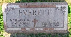 Margaret Genevive Marge <i>O'Neill</i> Everett