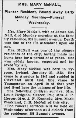 Mary <i>Clements</i> McNall