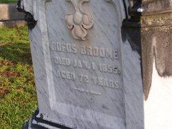 Col Rufus Broome