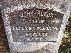 John Rufus Broome