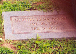 Bertha Lena Brown