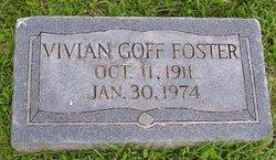 Vivian <i>Goff</i> Foster