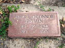 Elnora Rita <i>O'Connor</i> Freeman