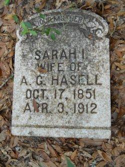 Sarah Isabel <i>Ellis</i> Hasell
