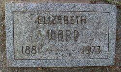 Elizabeth Lizzie <i>Olson</i> Ward