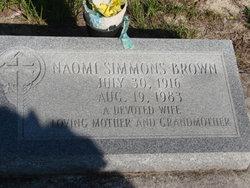 Naomi <i>Simmons</i> Brown