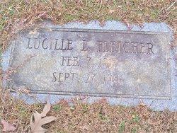 Lucille Lizzie <i>Tuggle</i> Fletcher