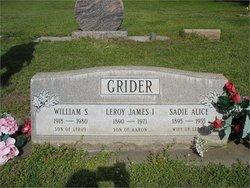 Sadie Alice <i>Grigsby</i> Grider
