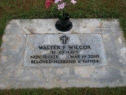 Walter F Wilcox