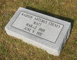 Madison Artemus Matt Cheney