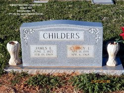 Clurcy Lee <i>Pillion</i> Childers