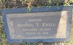 Hedwig Theresa <i>Lange</i> Krell