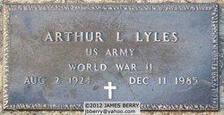 Arthur L Lyles