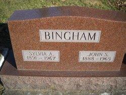 Sylvia A. <i>Edwards</i> Bingham