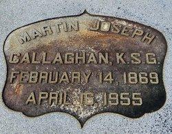 Martin Joseph Callaghan