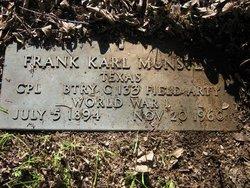 Frank Karl Munster
