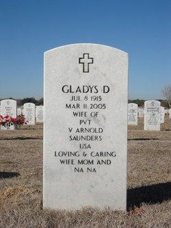 Gladys D Saunders