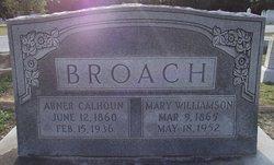 Mary Ellen <i>Williamson</i> Broach