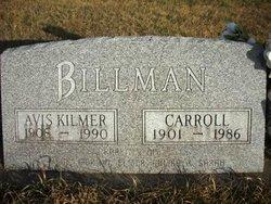 Avis A <i>Kilmer</i> Billman