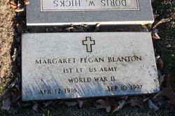 Margaret <i>Fegan</i> Blanton
