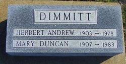 Herbert Andrew Dimmitt