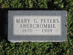 Mary G. <i>Peters</i> Abercrombie