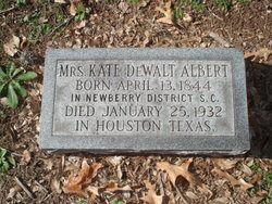 Rebecca Catherine Kate <i>DeWalt</i> Albert