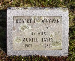 Muriel <i>Hayes</i> Donovan