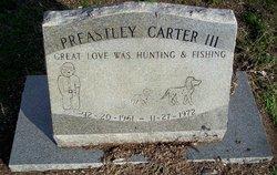 Preastley Carter, III