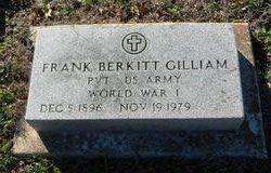 Frank Berkitt Gilliam