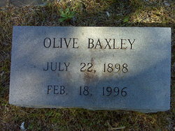 Olive Baxley