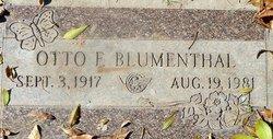 Otto F Blumenthal